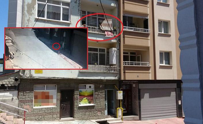 2. kattan düşen çocuğu çamaşır ipi kurtardı