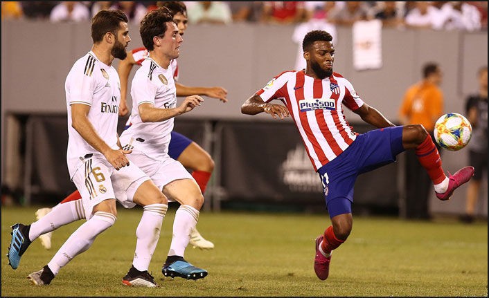 Atletico Madrid, Real Madrid'e gol oldu yağdı!
