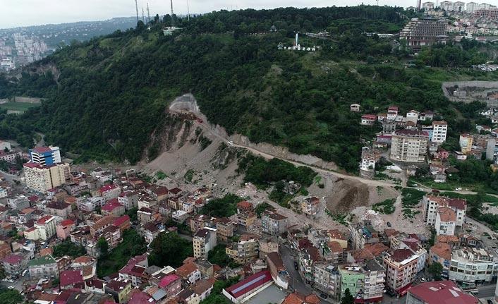 Doğal sit alanı Boztepe'de tünel ve yol inşaatına tepki