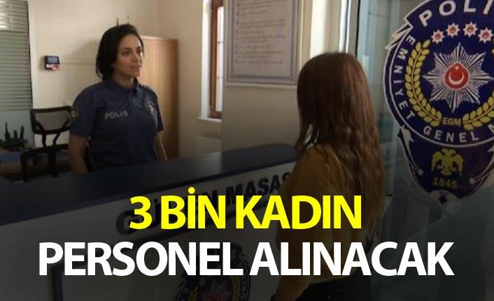 Süleyman Soylu: 3 bin kadın personel alacağız