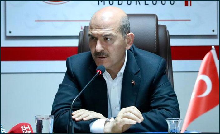 """Süleyman Soylu'dan göçmen açıklaması: """"Sınır dışı söz konusu değil"""""""