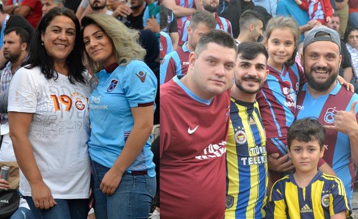 Taraftarların ilgisi Trabzonspor mutlu etti