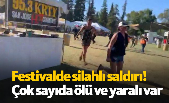 Festivalde silahlı saldırı! Çok sayıda ölü ve yaralı var