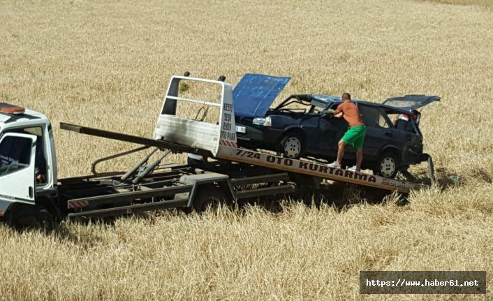 Gümüşhane'de feci kaza! Tatil için geldiler aşırı hız sonları oldu!