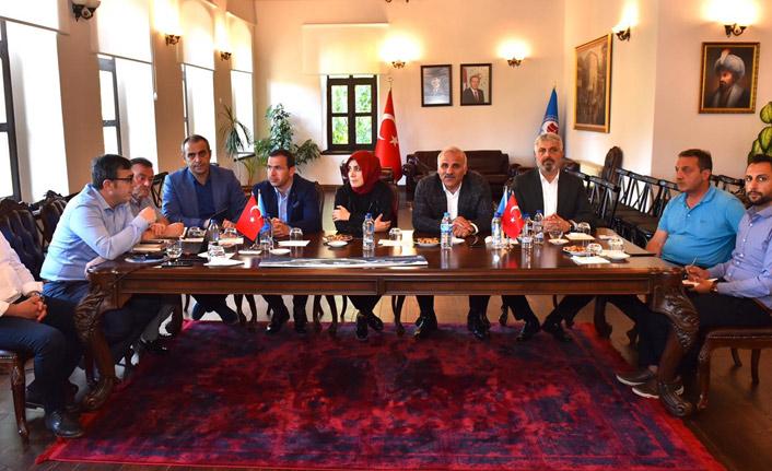 Zorluoğlu Trabzon'daki son durumu vekillere iletti