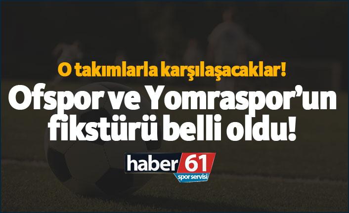 TFF 3. Lig'de Ofspor ve Yomraspor'un fikstürü!