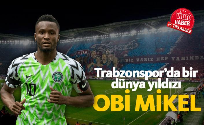 Trabzonspor'da bir dünya yıldızı: Obi Mikel