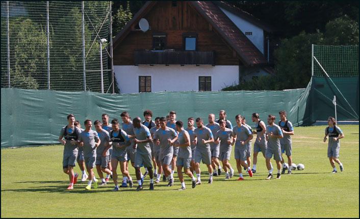 Trabzonspor'un Avusturya kampı raporu!
