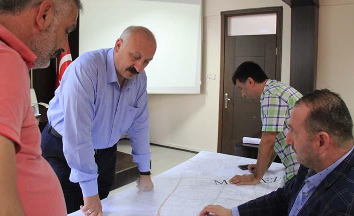Araklı'da doğalgaz çalışmaları başladı