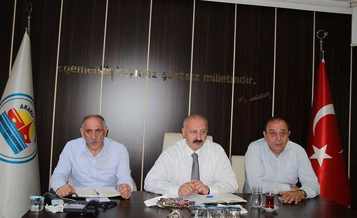 Araklı'da kurban kesim yerleri açıklandı