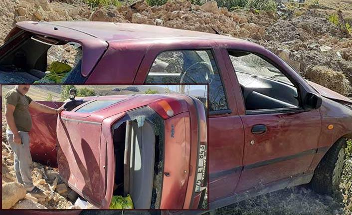 Bayburt'ta Trafik kazası   Bayburt Haberleri