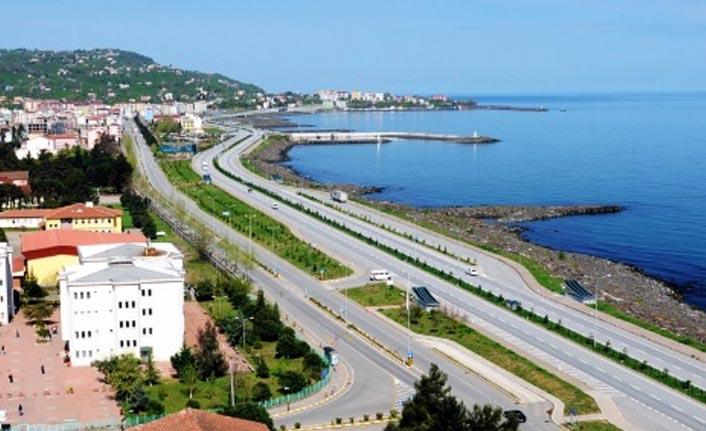 Beşikdüzü Trabzon yolunda çalışma
