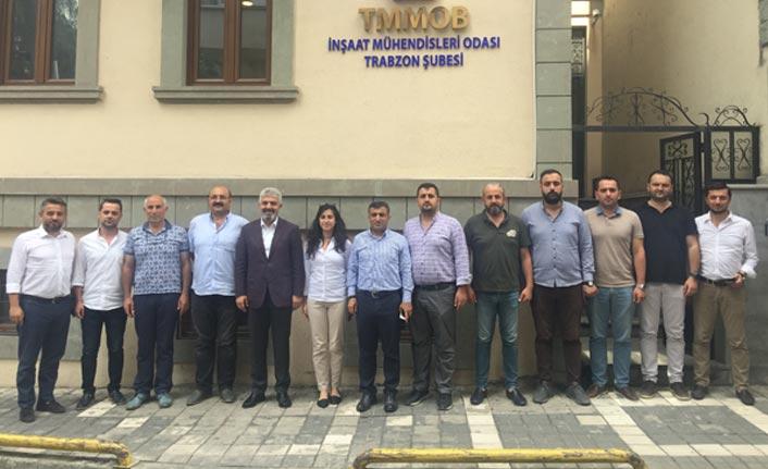 Günnar ve Altunbaş'tan İMO'ya ziyaret