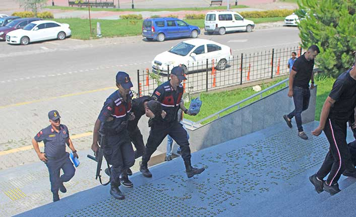 Motosiklet hırsızları adliyede