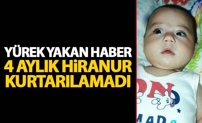 Nefes borusuna mama kaçan bebek hayatını kaybetti | Samsun Haberleri