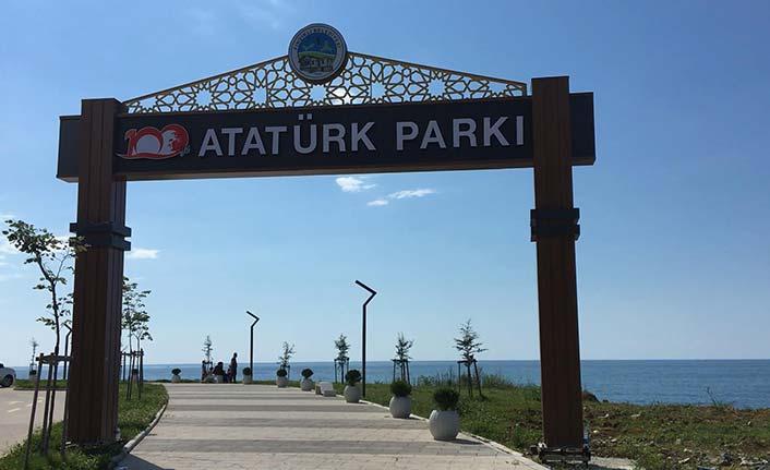 """Rize'de """"Atatürk Parkı"""" tartışması yargıya taşındı"""