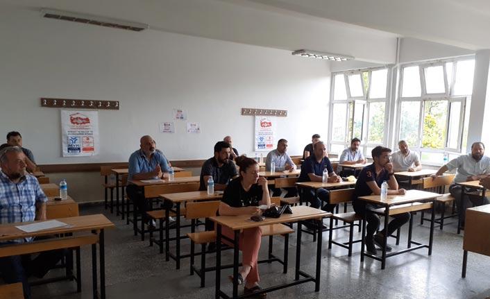 Artık herkes o mesleği yapamayacak - Trabzon'da sınavlar yapıldı
