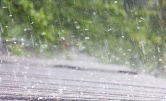 """""""Karadeniz ve Marmara'da kuvetli yağış ve dolu bekleniyor"""""""