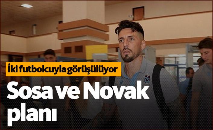 Trabzonspor'da Sosa ve Novak kararı