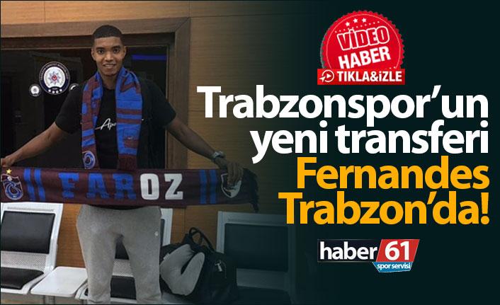 Trabzonspor'un yeni transferi Ivanildo Fernandes Trabzon'da!