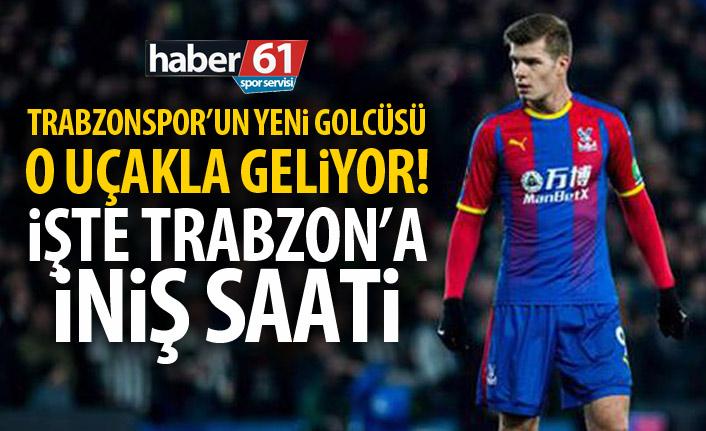Trabzonspor'un yeni golcüsü o uçakla geliyor! İşte Trabzon'a geliş saati