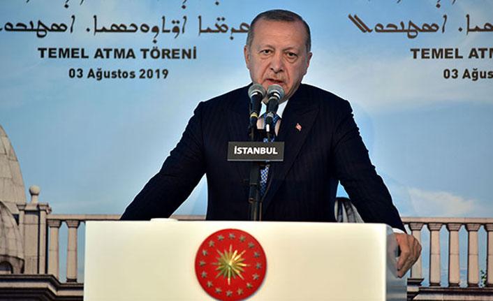 """Cumhurbaşkanı Erdoğan: """"Ne zihinlerimizde ne kalplerimizde ayrımcılığa yer yok"""""""