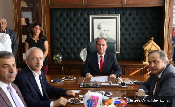 Kılıçdaroğlu'ndan Ardanuç Belediyesine ziyaret