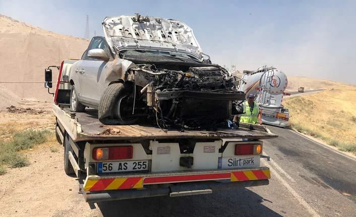 Siirt'te trafik kazası!