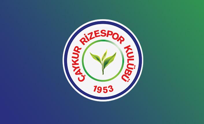 Çaykur Rizespor'dan sponsorluk ve reklam desteği açıklaması