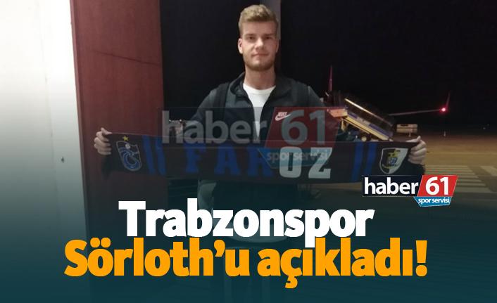 Trabzonspor, Alexander Sörloth'u açıkladı!