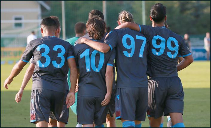 Trabzonspor o takımlarla karşılaşacak! İşte program...