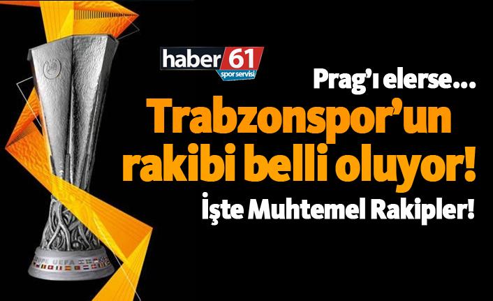 Trabzonspor'un Sparta Prag'ı yenerse o takımla karşılaşacak!