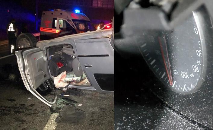 Ankara'da feci kaza, ölü ve yaralılar var