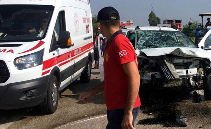 Osmaniye'de feci kaza: 1 ölü 3 yaralı