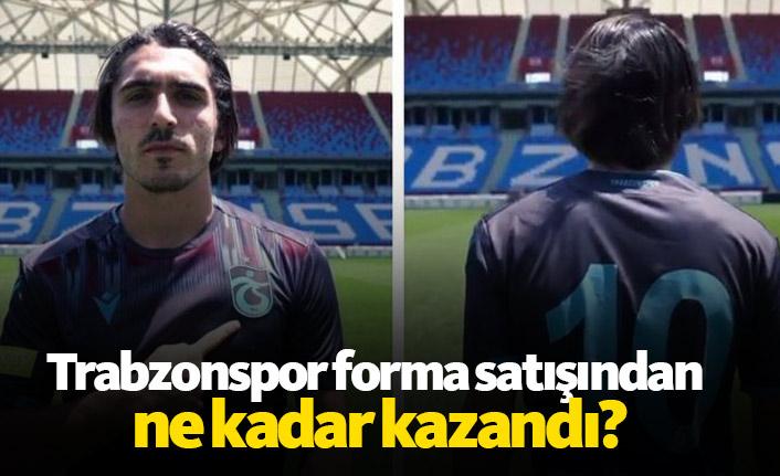 Trabzonspor forma satışından ne kadar kazandı?