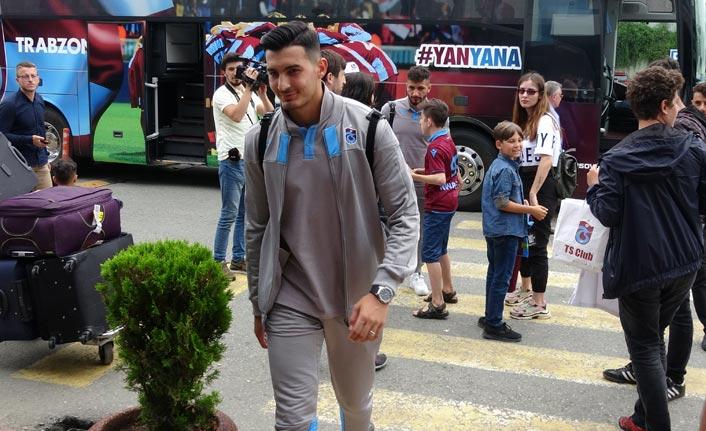 Trabzonspor Prag'a tur için uçtu