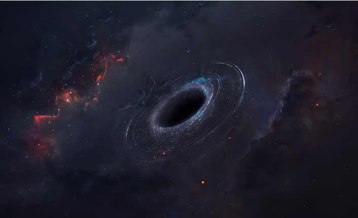 Uzay bilimciler 40 milyar güneş büyüklüğünde bir kara delik buldu