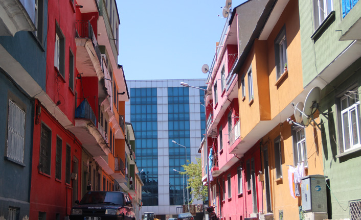 Erzurum'un rengarenk mahallesi görenleri kendine hayran bırakıyor