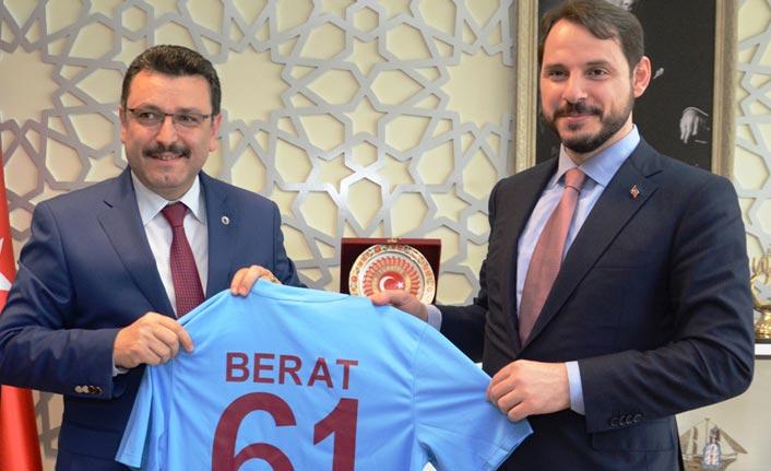 Genç'ten Bakan Albayrak'a Trabzonspor teşekkürü