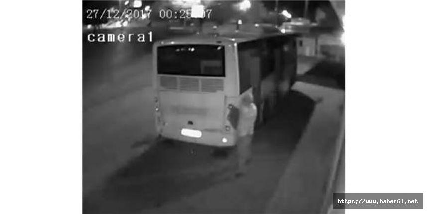 Komşusunun otobüsünü soydu, bakın ne dedi