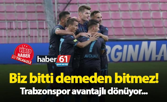 Trabzonspor Prag'da avantajı kaptı! Sparta Prag - Trabzonspor maç özeti