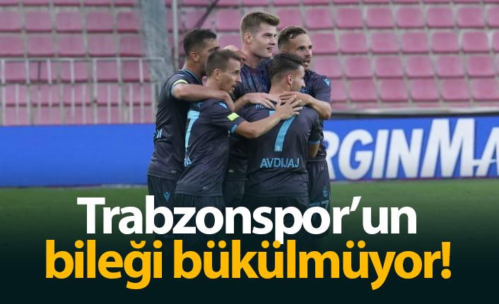 Trabzonspor'un bileği bükülmüyor!