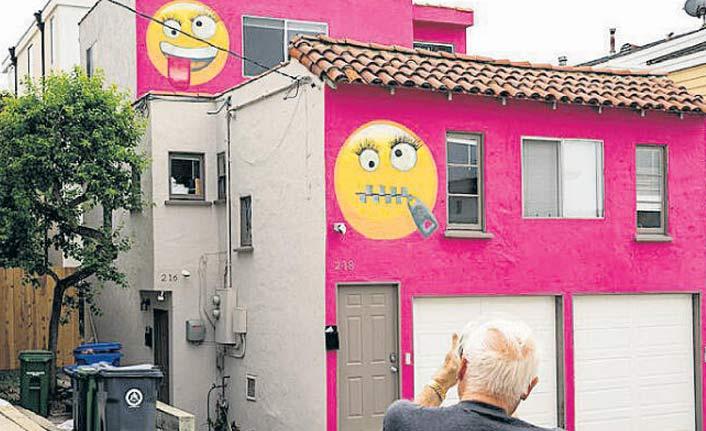 Komşulara emojili cevap!