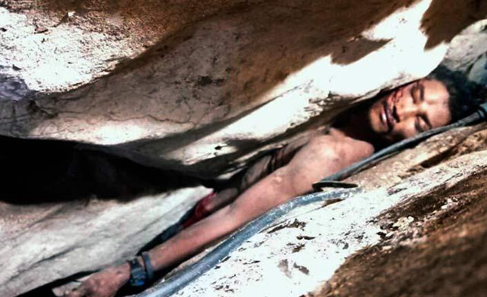 Mağarada sıkıştı, günler sonra kurtarıldı