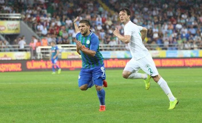 Rizespor ile Giresunspor hazırlık maçında karşılaştı