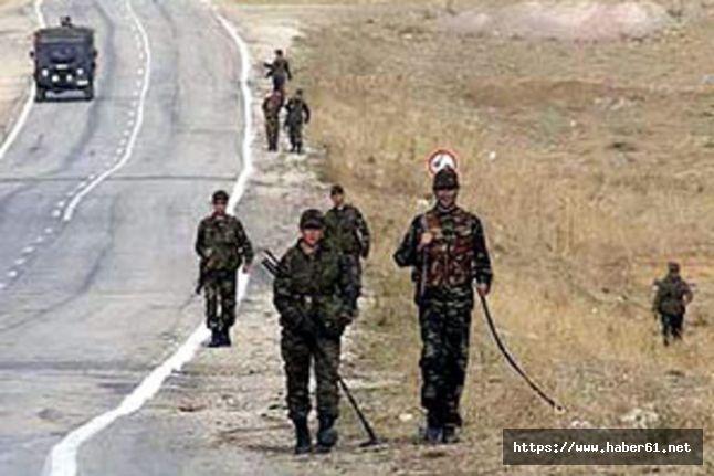 Trabzonlu asker mayına bastı!
