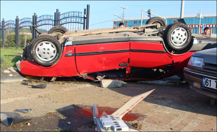 Trabzon'da kaza: 6 yaralı
