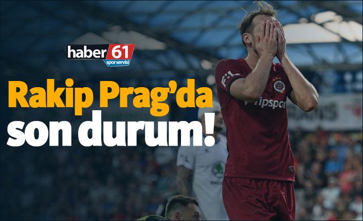 Trabzonspor'un rakibi Sparta Prag'da son durum!