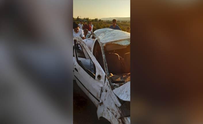 Trafik kazası: 1 ölü, 3 yaralı