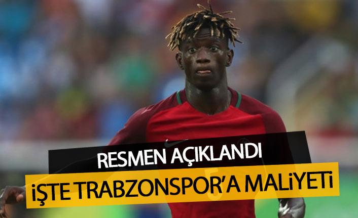 Edgar Le'nin Trabzonspor'a maliyeti belli oldu